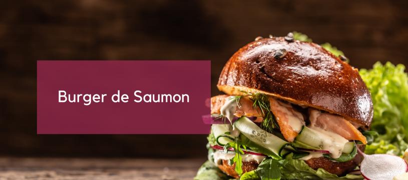 Burger de Saumon
