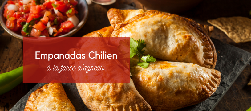 Empanadas Chilien à la farce d'agneau